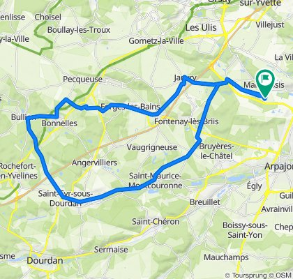 De Route de Briis 94, Marcoussis à Route de Briis 88, Marcoussis