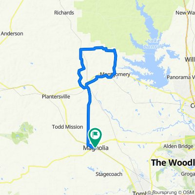 Lone Pint to Montgomery Loop