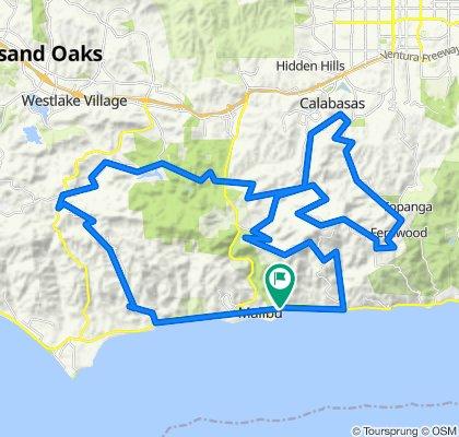 Eastern Santa Monica Mountains (inc Mulholland Hwy)