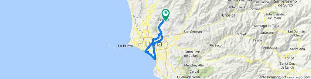 De Calle D 7, Lima a Calle D 7, Lima