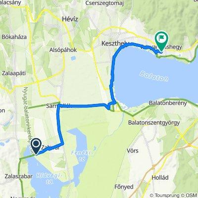Vársziget út, Zalavár-Zrínyi Miklós utca 6., Vonyarcvashegy
