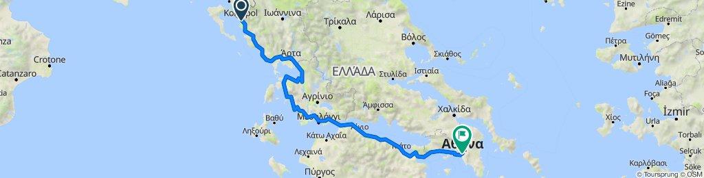 Sagiada to Nakou 3, Athina