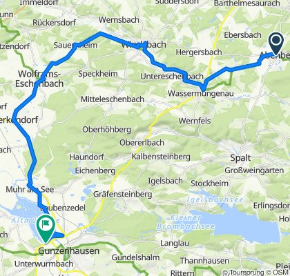 Kirchgasse 3, Abenberg nach B466, Gunzenhausen