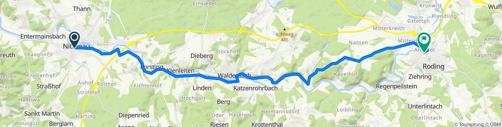 Marktplatz 6, Nittenau nach Falkensteiner Straße 2, Roding