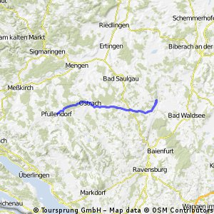 Pfullendorf - Aulendorf