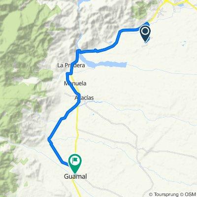De Unnamed Road a Carrera 6 1509, Guamal
