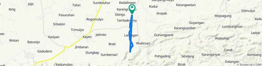 Jalan Gabus-Tambakromo to Jalan Gabus-Tambakromo