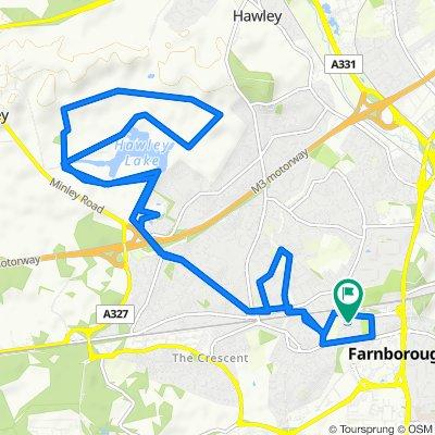 38 High View Road, Farnborough to 38 High View Road, Farnborough