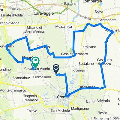 Da Via Sandro Pertini 28–32, Campagnola Cremasca a Via San Rocco 13, Casaletto Vaprio