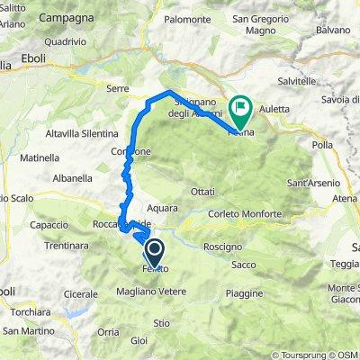 Tappa 5 / La Via Silente / Felitto - Petina
