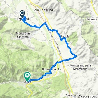 Tappa 8 / La Via Silente / Teggiano - Sanza