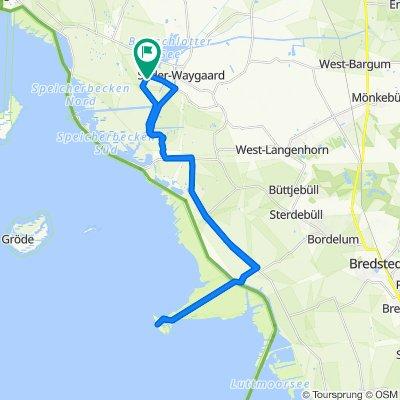 Route von Tudenswarft 10, Dagebüll