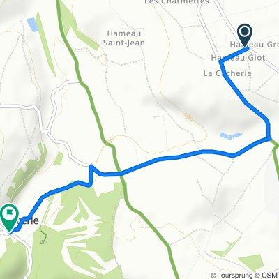 De 26 Route de la Croix Fresville, Digosville à 1–7 Rue Louis Lucas de Nehou, Cherbourg-en-Cotentin