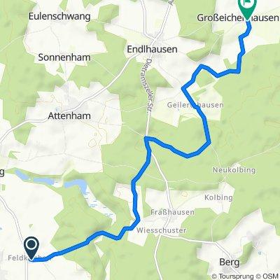 Feldkirchen 5, Egling nach Endlhausener Straße 1A, Sauerlach