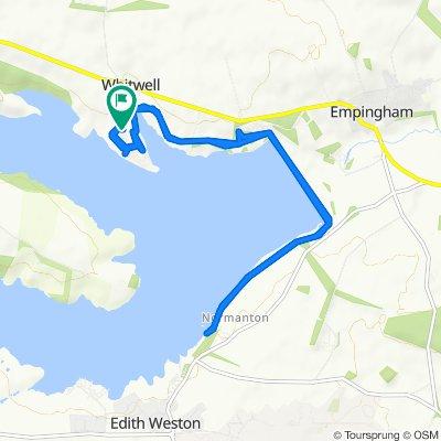 Bull Brig Lane, Oakham to Bull Brig Lane, Oakham