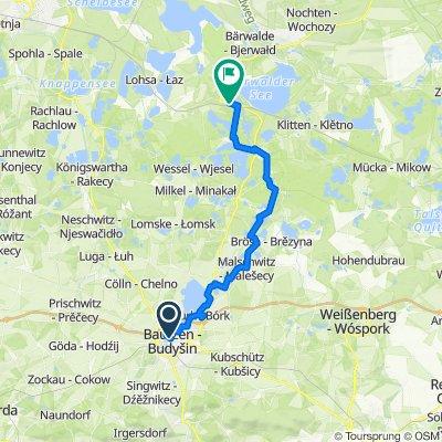 Sommerradtour 2020 (Etappe 3 : Bautzen - Uhyst)