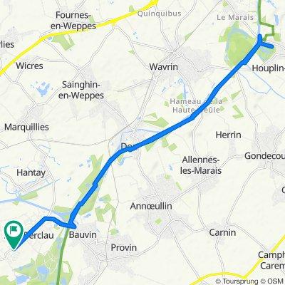 De 54C Rue du Général de Gaulle, Billy-Berclau à 54C Rue du Général de Gaulle, Billy-Berclau