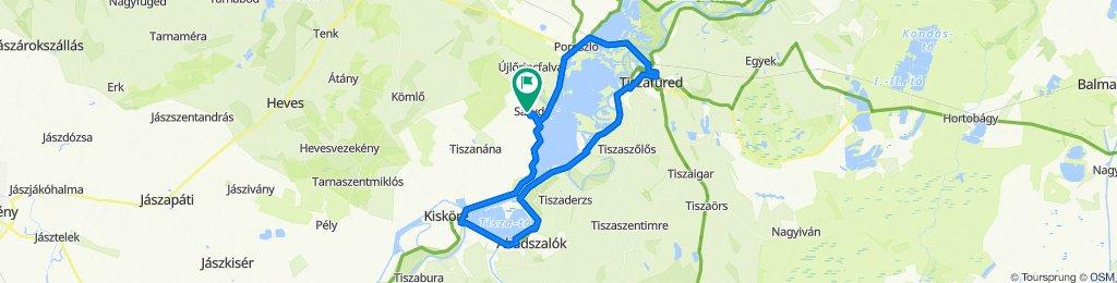 Tisza-tó körben