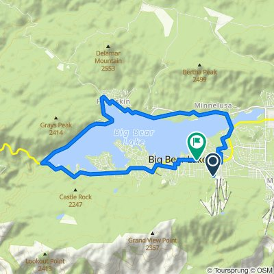 880 Summit Blvd, Big Bear Lake to 41275 Big Bear Blvd, Big Bear Lake