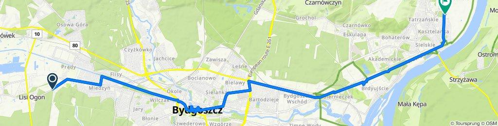 Łochowska 38–42, Bydgoszcz do Franciszka Kiedrowskiego, Bydgoszcz