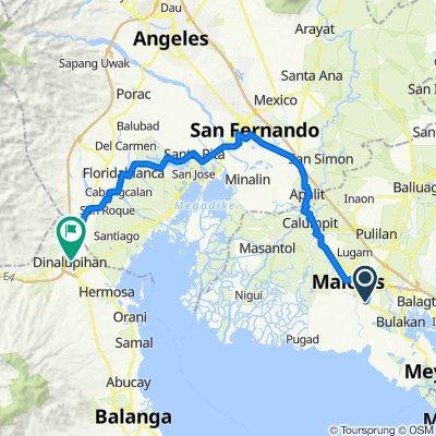 126 Bagna-Panasahan-Matimbo Road, Malolos City to Porac-Dinalupihan Road, Dinalupihan