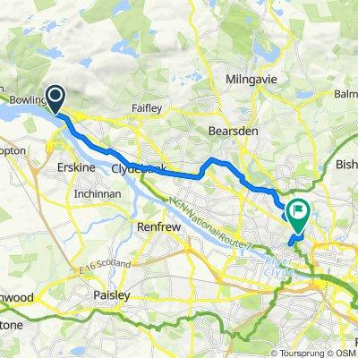 35–59 Portpatrick Road, Old Kilpatrick, Glasgow to 9 Caledonian Crescent, Glasgow