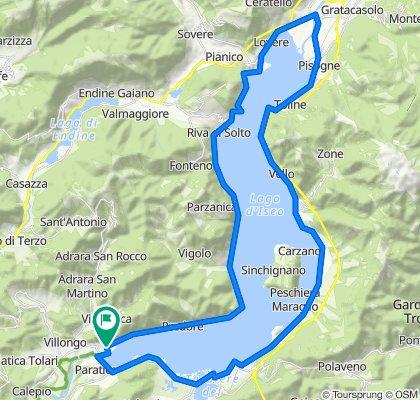 Giro del Lago d'Iseo
