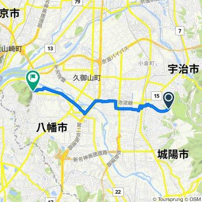 De 25-2, Hironocho Hachiken-yadani, Uji-Shi à 24, Yawata Byodani, Yawata-Shi
