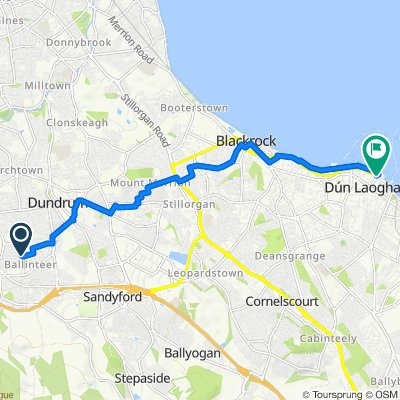 Broadford Lawn 9 to Dun Laoghaire, Town Hall ->NE, Dublin