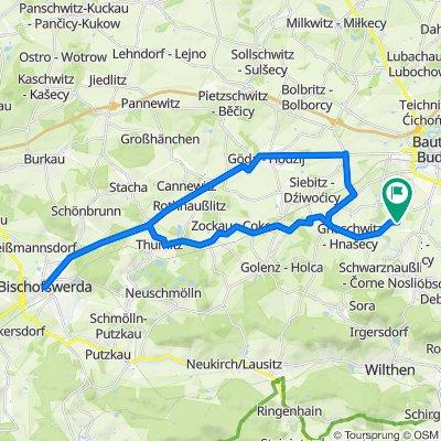 Rennradour Bautzen - Bischofswerda