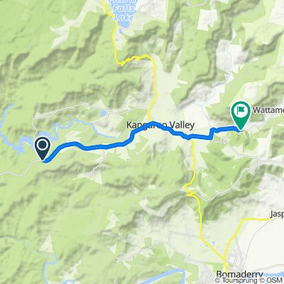 673E Tallowa Dam Road, Kangaroo Valley to 898–958 Wattamolla Road, Wattamolla