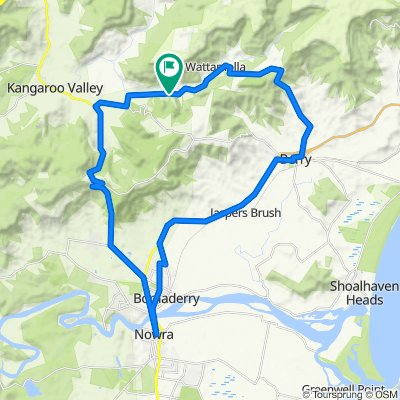 898–958 Wattamolla Road, Wattamolla to 898–958 Wattamolla Road, Wattamolla