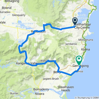 Albion Park to Gerringong