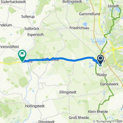 Birkenweg 5, Schuby nach Treenestraße 86, Treia
