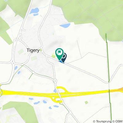 De Route de Lieusaint, Tigery à Route de Lieusaint, Tigery