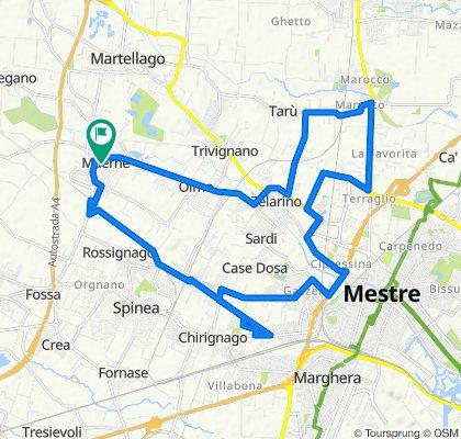 Da Via Giotto 7, Maerne a Via Giotto 7, Maerne