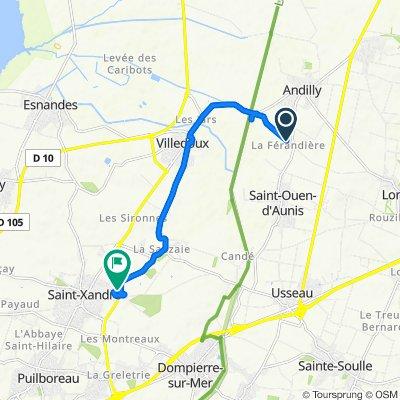 De D202e1, Andilly à 34 Rue Lavoisier, Saint-Xandre