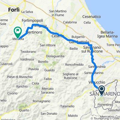 San Marino - Meldolda