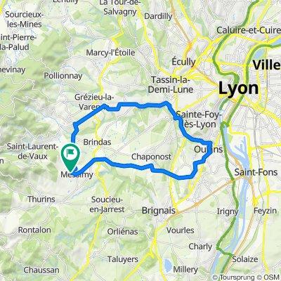 De Route de la Bruyère 4, Messimy à Route de la Bruyère 4, Messimy