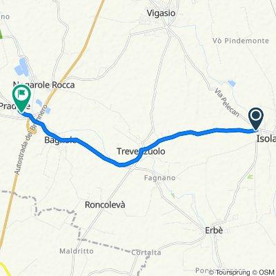 Via Ca' Nova, Isola Della Scala to Via 9 Maggio 43, Pradelle