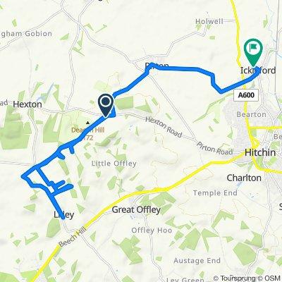 B655 to Chambers Lane 10, Ickleford