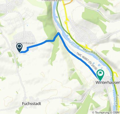 Engelsweg 18, Würzburg nach Winterhausen Bürgerhaus