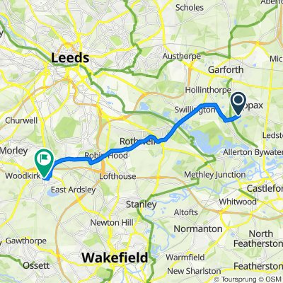 62 Station Road, Leeds to 7 Blackgates Dr, Wakefield