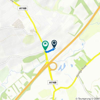 Langston Road, Loughton to 1 Langston Road, Loughton