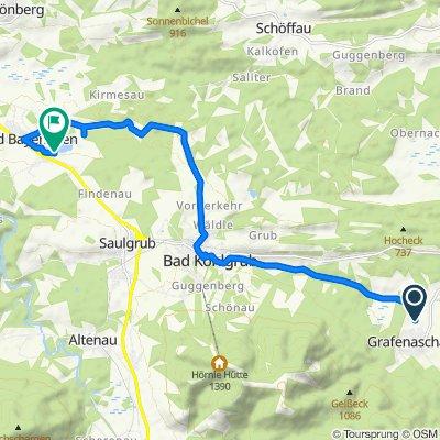 Angerstraße 22, Schwaigen nach Seeweg 104, Bad Bayersoien