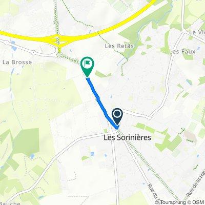 De 5 Rue de l'Îlette, Les Sorinières à 147 Rue des Sorinières, Rezé