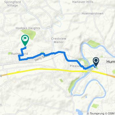 623 W Main St, Hummelstown to 7099 Oak Ridge Dr, Harrisburg