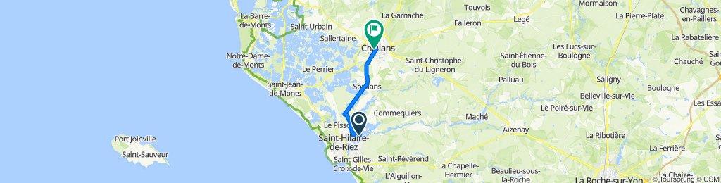 De 78 Chemin des Vallées, Saint-Hilaire-de-Riez à 18 Rue de la République, Challans
