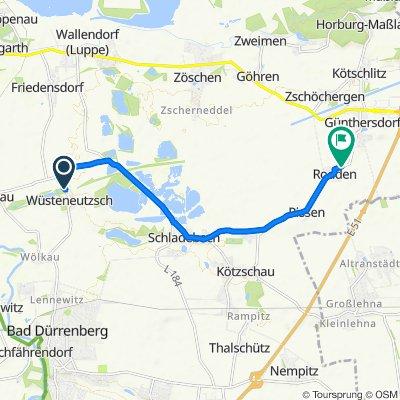 Dorfstraße, Leuna nach L185, Leuna