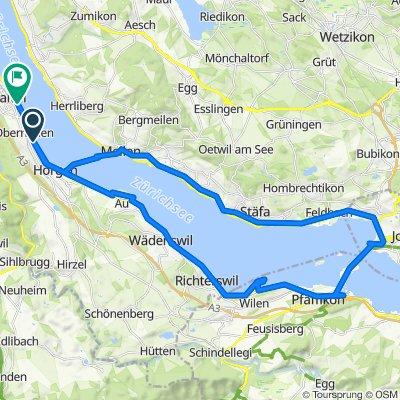 Seestrasse 63A, Oberrieden nach Zehntenhofweg 7, Thalwil
